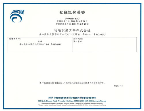 iso14001付属