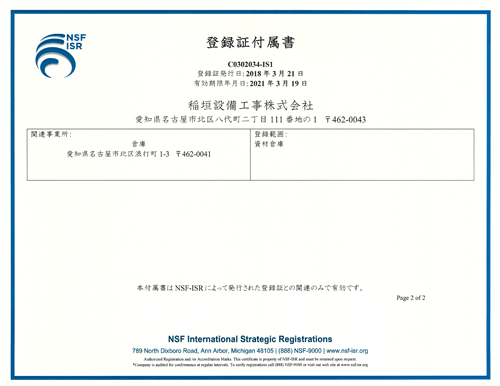 iso9001付属